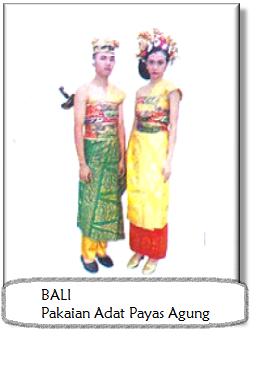 Pakaian Adat Indonesia (Bali) | Infonesia123