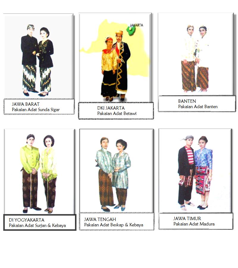 Pakaian Adat Indonesia (Jawa)