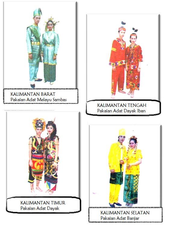 Pakaian Adat Indonesia Kalimantan Infonesia123